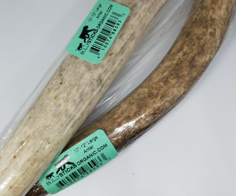 10″-12″ Large Antler dog chew (1/bag)