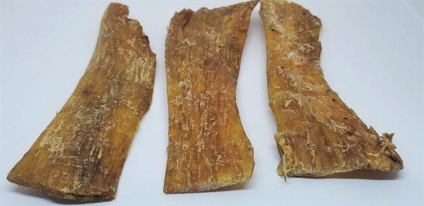 9″ Beef Backstraps Chew (5 pieces per bag)