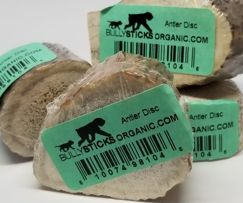 Antler Disc dog chews (5 pieces per bag)