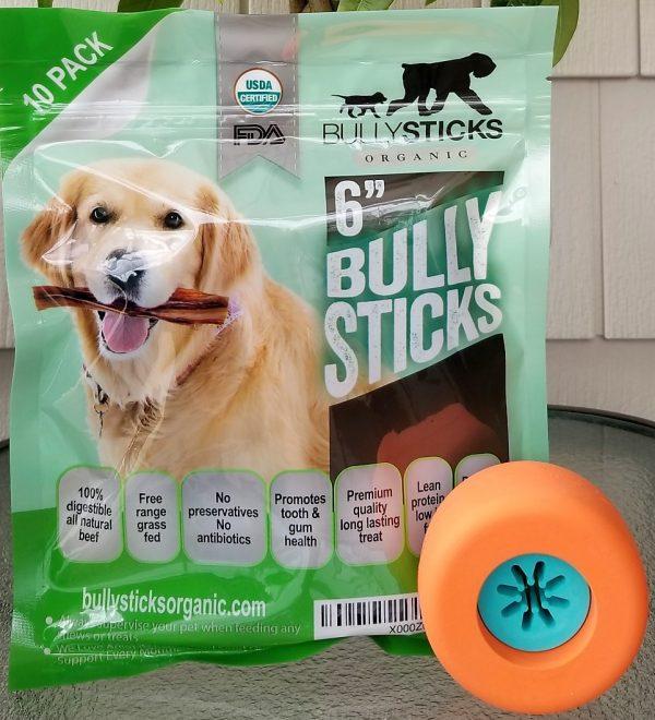 Bully Grip + 6″ Standard Bullysticks (10 pack)