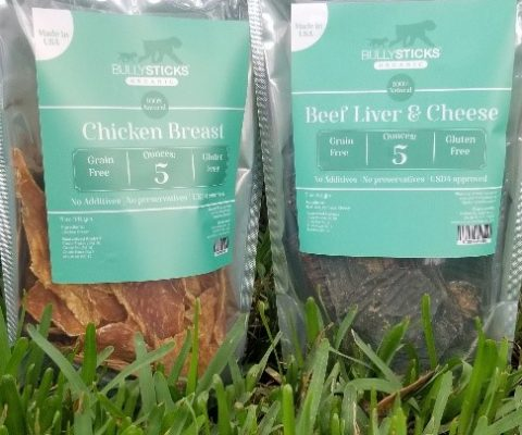 Chicken Breast + Beef Liver & Cheese (5 oz bag) 2 pack