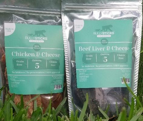 Chicken & Cheese + Beef Liver & Cheese (5 oz bag) 2 pack